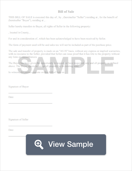 free massachusetts bill of sale templates pdf docx formswift