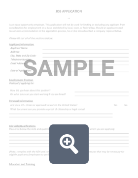 employment application create download for free formswift