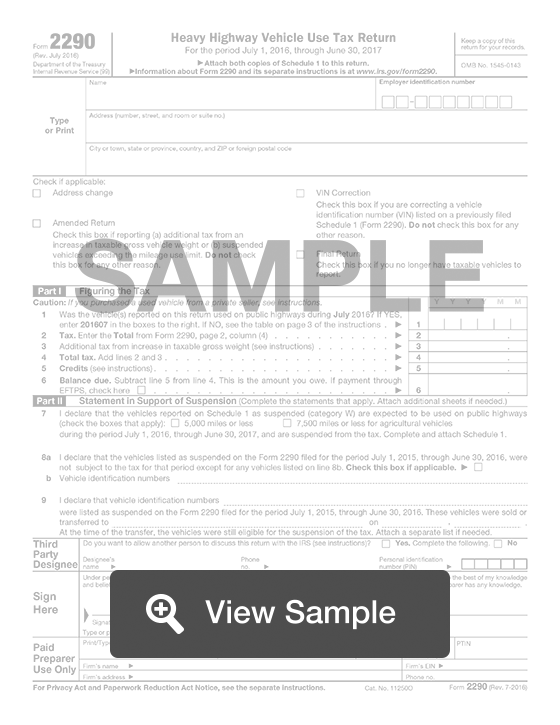 2290 form download  IRS Form 9: Truck Tax Return | Fill Out Online | PDF ...