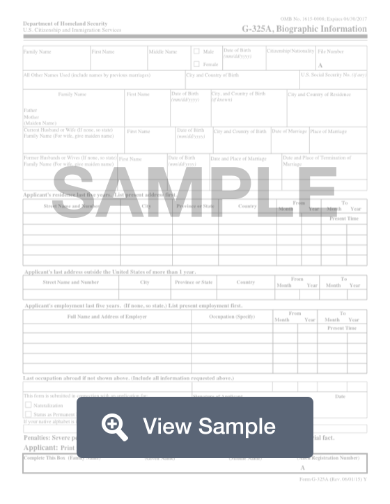 Form G 325a Create Download For Free Formswift