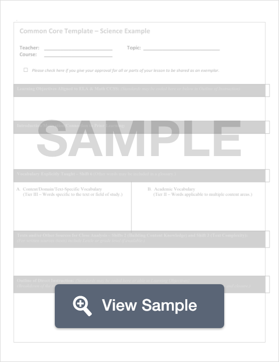 Fillable Science Lesson Plan Formswift